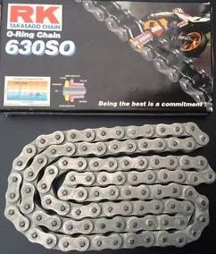 RK Kedja 630SO-96 O-ring (3/4x3/8) Honda - Kawasaki (53019)